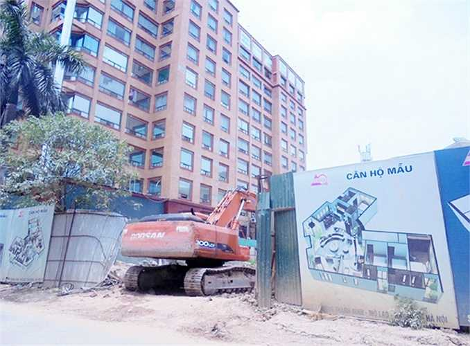 Tháp Doanh Nhân hiện đang nợ hơn 21 tỷ đồng tiền sử dụng đất.