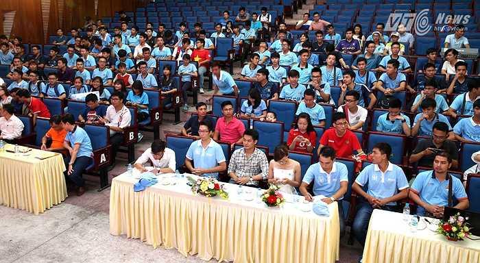 Chính thức ra mắt Hội CĐV Man City tại Việt Nam chiều 19/7 tại Hà Nội. (Ảnh: Quang Minh)