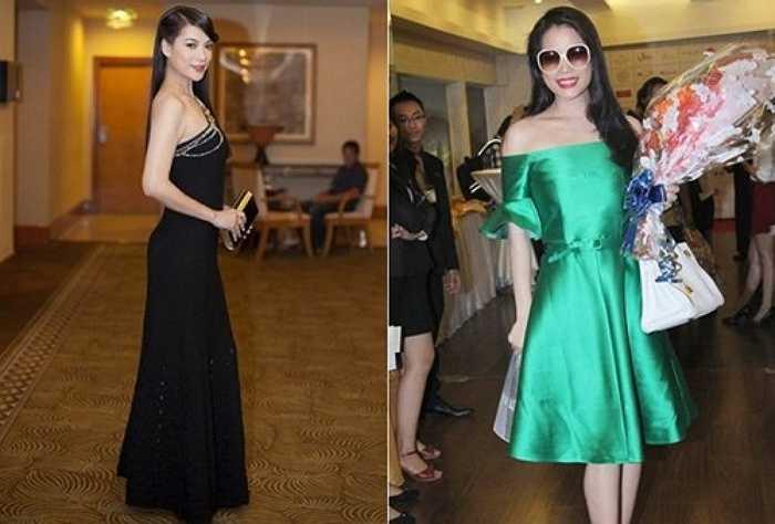 Những bộ váy của Dior, Carven, túi Hermes, đồng hồ Hublot nạm kim cương... của Trương Ngọc Ánh có giá từ vài chục triệu đến hơn tỷ đồng.