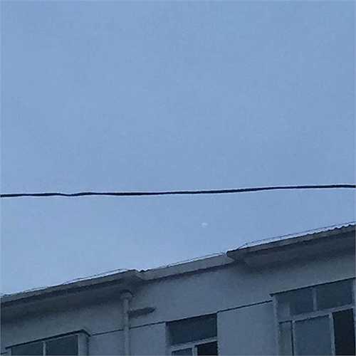 Khoảng 7 giờ sáng 17/7, một người dân họ Vương ở huyện Thành Cố, tỉnh Thiểm Tây, Trung Quốc phát hiện 'một vật thể lạ như đang bốc cháy' trên bầu trời. (Nguồn: Chinadaily)