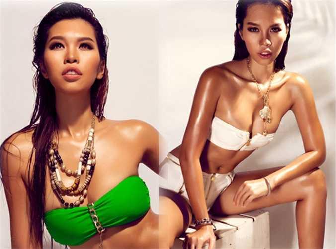 Hà Anh là một trong những siêu mẫu sở hữu đường cong gợi cảm nhất showbiz.
