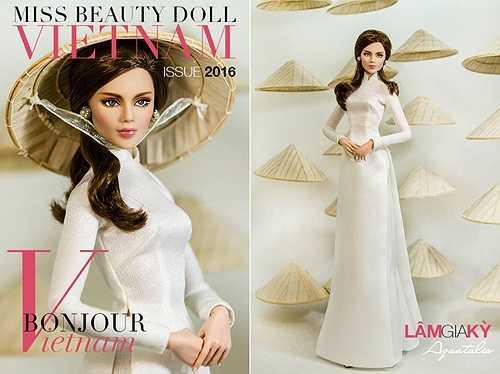 Được biết, ngoài vòng thi chụp ảnh với áo dài, nón lá, Miss Beauty Doll Vietnam cũng có đầy đủ các phần thi như: Áo tắm, váy dạ hội, thi ứng xử…