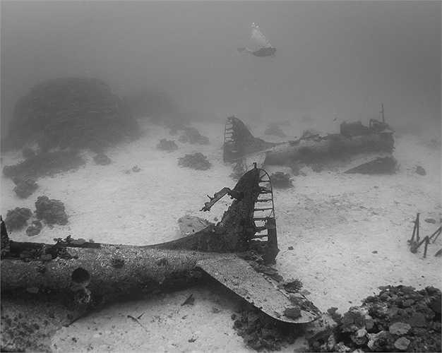 Được phát hiện từ những năm 1960, đến nay 'nghĩa địa' máy bay này vẫn nguyên vẹn ở đó