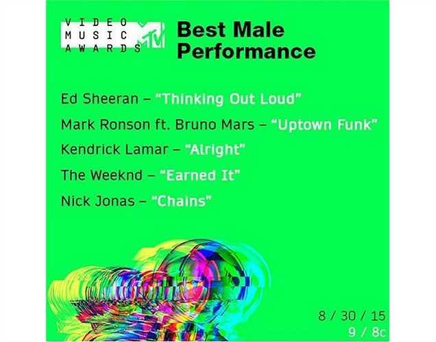 Nick Jonas vận động fan bình chọn cho mình tại VMAs