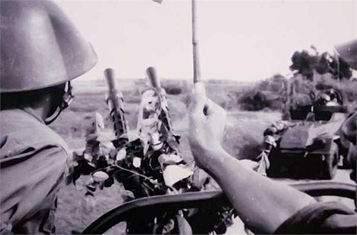 Tiểu đoàn 1 phòng không tự hành AM bảo vệ tên lửa ra quân đánh thắng trận đầu. (Nguồn: Kiến Thức)