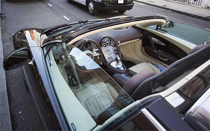Vé phạt có giá trị 130 bảng (hơn 4,4 triệu đồng), chẳng là gì so với giá trị của chiếc xe.