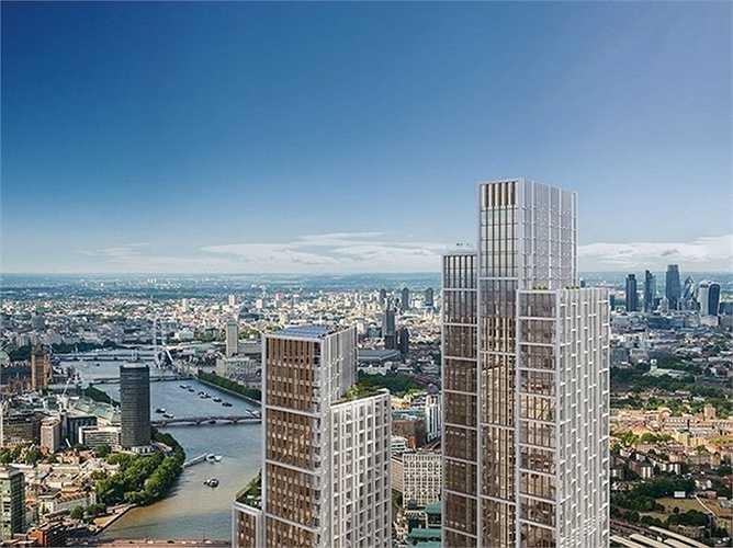 Tập đoàn này đang đầu tư xây dựng một tổ hợp khách sạn và chung cư Nine Elms bên bờ sông ở Luân ĐÔn