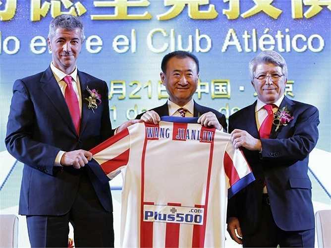 Đầu năm nay, tỷ phú Wang mua 20% cổ phiếu CLB bóng đá Real Madrid