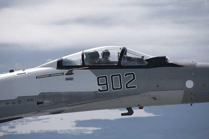 Một chiếc Su-35 đa chức năng