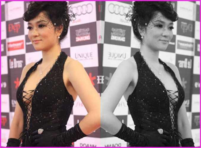 Hoa hậu Việt Nam xinh đẹp, quyến rũ.