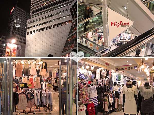 Chợ Dongdaemun là thánh địa của thời trang nội địa Hàn Quốc.