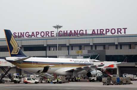 Sân bay Changi - Singapore là điểm đến của các hãng hàng không Việt Nam