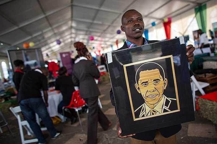 Người dân Kenya đang háo hức chờ đón 'người con' Obama trở về quê hương lần đầu tiên kể từ khi ông ở cương vị Tổng thống Mỹ