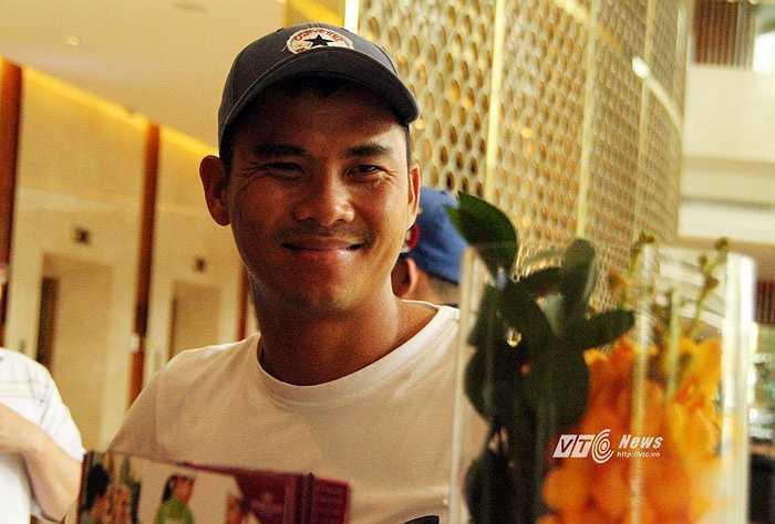 Các cầu thủ Việt Nam háo hức với cơ hội đọ sức cùng dàn sao đẳng cấp thế giới.(Ảnh: Vân Nga)