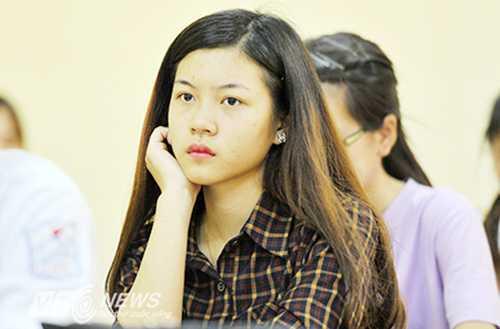 Thí sinh tham dự kỳ thi THPT quốc gia 2015