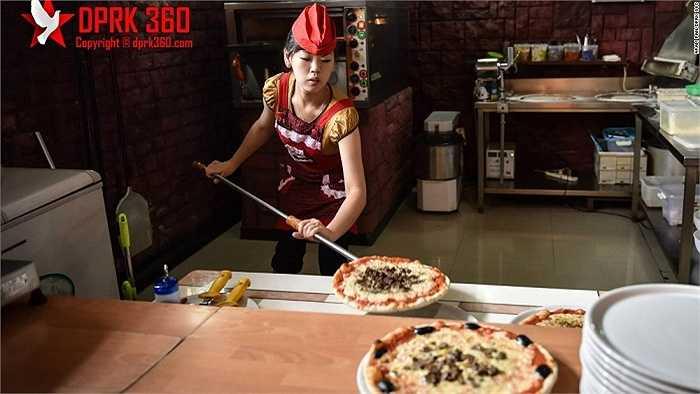 Một tiệm pizza được mở từ năm 2009 ở thủ đô Bình Nhưỡng