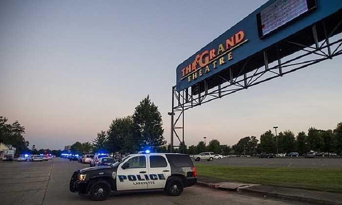 Vụ xả súng xảy ra tại rạp chiếu phim Grand trên đường Johnston, ở Lafayette, bang Louisiana, Mỹ