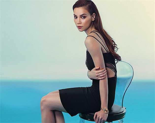 Hồ Ngọc Hà cũng là một biểu tưởng sắc đẹp của showbiz Việt