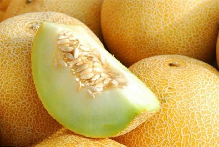 Xem xét kỹ vỏ dưa, không nên mua những trái dưa có vết thâm hay những đốm màu khác lạ vì đó là những chỗ hỏng, có thể đã lan vào phần ruột.