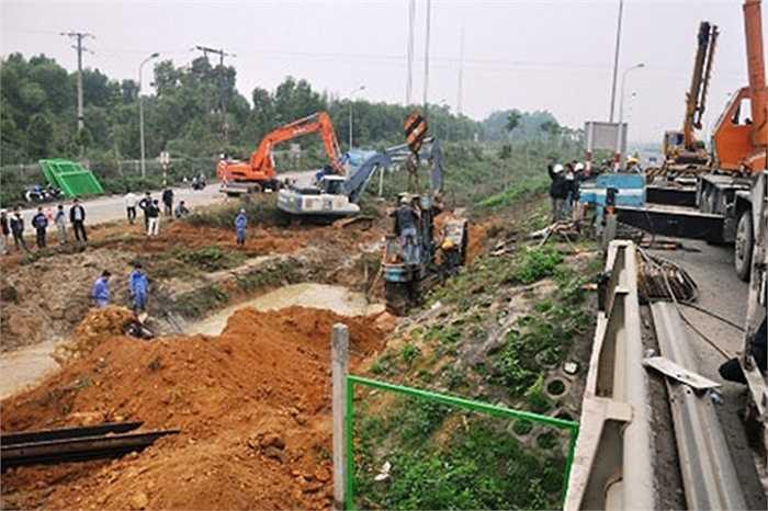 Sáng 15/1/2015, đường ống nước sạch Sông Đà tiếp tục gặp sự cố tại địa phận huyện Quốc Oai (Hà Nội), khiến hơn 70.000 hộ dân Thủ đô mất nước sạch sinh hoạt. Đây là lần thứ 10, đường ống nước Sông Đà bị vỡ.
