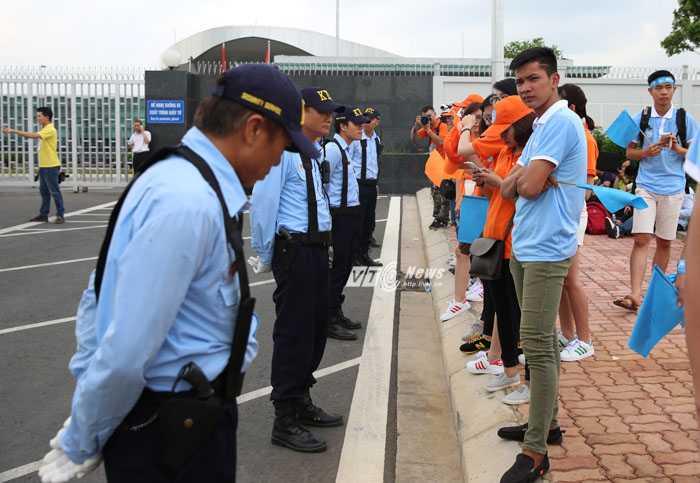 Lực lượng an ninh bảo vệ vòng ngoài