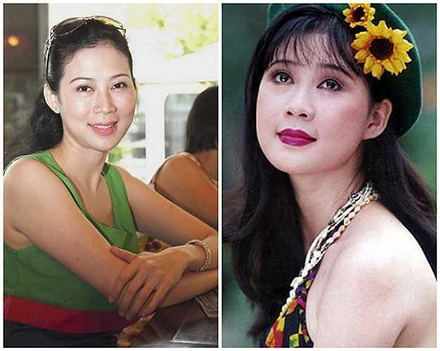 Cận kề tuổi 45, nhan sắc Diễm Hương tuy không còn rạng rỡ như trước nhưng ở chị vẫn toát lên vẻ nhẹ nhàng, viên mãn.