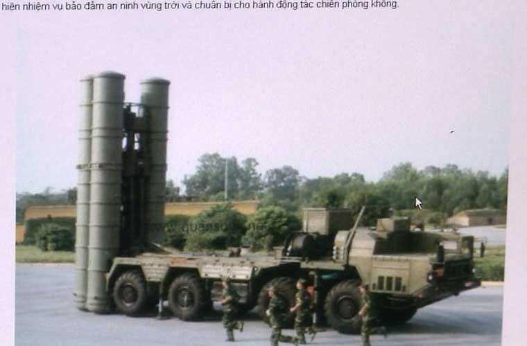 Hình ảnh về khí tài S-300 mới được trang bị cho các đơn vị phòng không Quân đội Nhân dân Việt Nam.