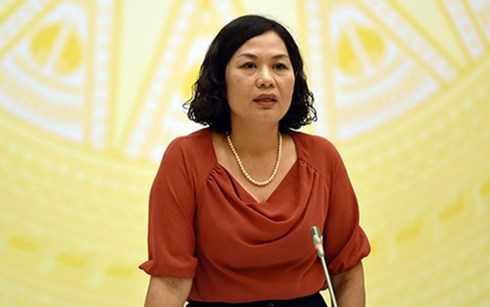 """Phó Thống đốc NHNN Nguyễn Thị Hồng cho biết tỷ giá sẽ chỉ """"neo"""" ở 2% từ nay đến cuối năm. (Ảnh: KT)"""