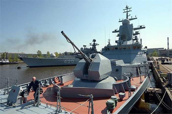 Tàu hộ tống Boiky đã được chuyển giao cho Hạm đội Biển Đen tại nhà máy đóng tàu Severnaya Verf