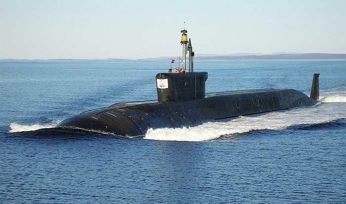 Tàu ngầm hạt nhân Yuri Dolgorukiy lớp Borei