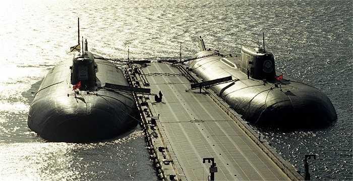 Các tàu ngầm hạt nhân của Hải quân Nga