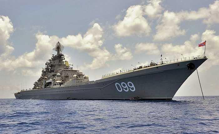 Tuần dương hạm hạt nhân Pyotr Veliky