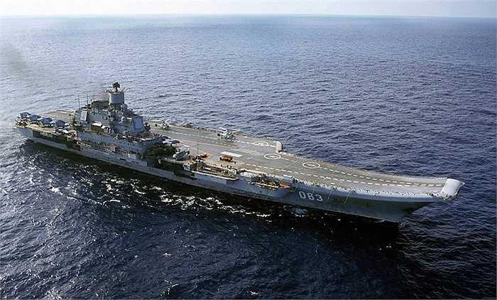 Tuần dương hạm hạt nhân chở máy bay Đô đốc Kuznetsov