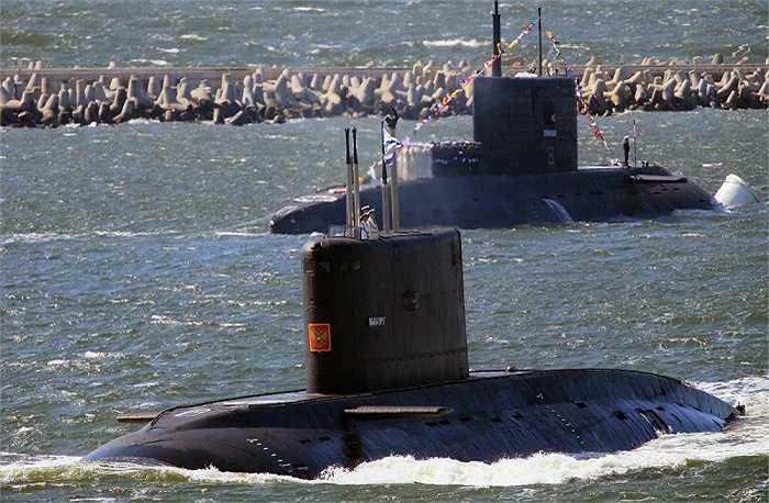 Tàu ngầm Vyborg thuộc lớp tàu ngầm điện - diesel Kilo