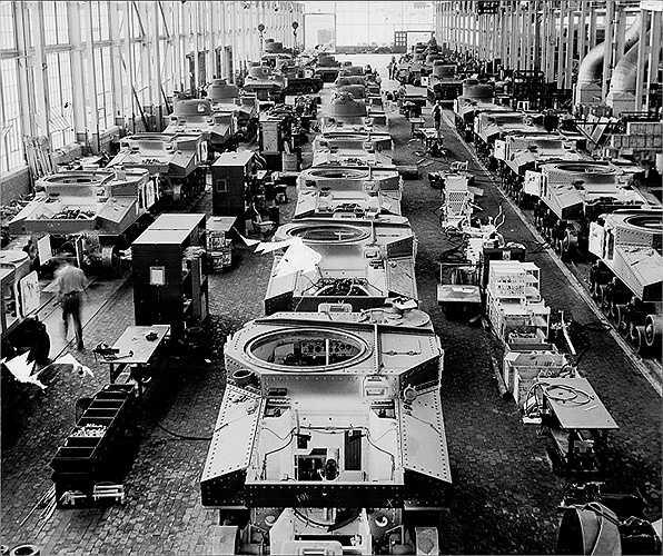 Nhà máy lắp ráp tự động Chrysler ở Detroit, Mỹ