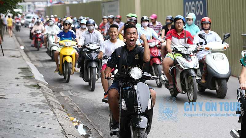 Hình ảnh đặc trưng Việt Nam trên trang web Man City