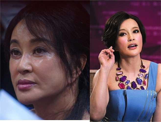 Lưu Hiểu Khánh ngoài đời và trong những bức ảnh đã được xử lý photoshop có nhiều sự khác biệt