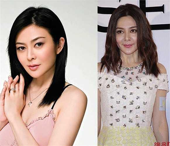Mỹ nữQuan Chi Lâm xuất hiện tại các sự kiện với gương mặt chảy xệ trông thấy