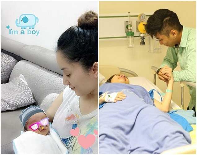 Khánh Thi hạ sinh bé KuBi vào trưa 17/7. Ở tuổi 22, Phan Hiển chính thức lên chức bố. Anh đang cố gắng vượt qua rào cản dư luận để bảo vệ tình yêu với bạn gái hơn 12 tuổi. Anh luôn túc trực trong bệnh viện để chăm hai mẹ con Khánh Thi.