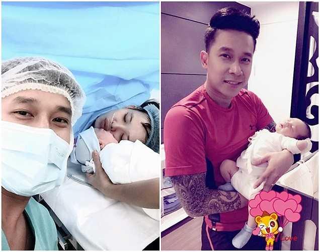 Đêm 10/7, Lê Hoàng lên chức bố. Con trai của Lê Hoàng có tên thân mật ở nhà là bé Chip.(Bài: Vũ Khanh, Ảnh: tổng hợp)