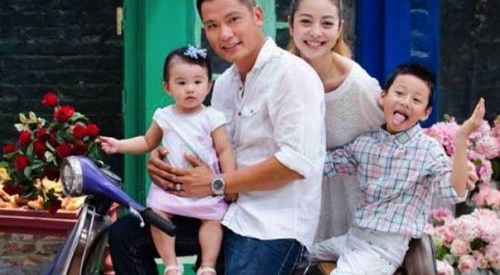 Hoa hậu Châu Á tại Mỹ rạng rỡ dù đã có hai con.