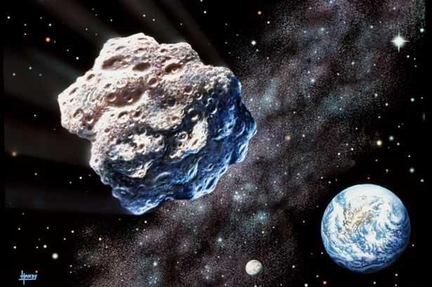 Thiên thạch chứa hàng tấn bạch kim với giá trị lớn ngang qua Trái đất