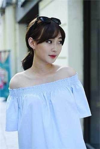Cô tên thật là Đoàn Nhật Minh, sinh năm 1993