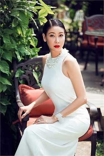Hà Kiều Anh ngày càng xinh đẹp, viên mãn.