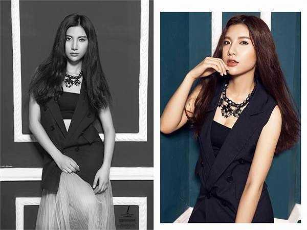 Hot girl Hạnh Sino có niềm đam mê ca hát từ nhỏ.