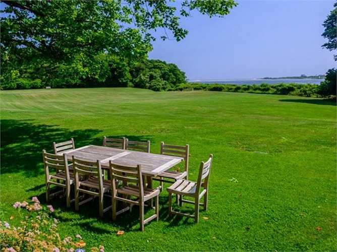 Địa điểm này sẽ là khung cảnh hoàn hảo cho buổi trà chiều.