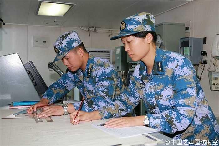 Lính hải quân Trung Quốc trong cuộc tập trận