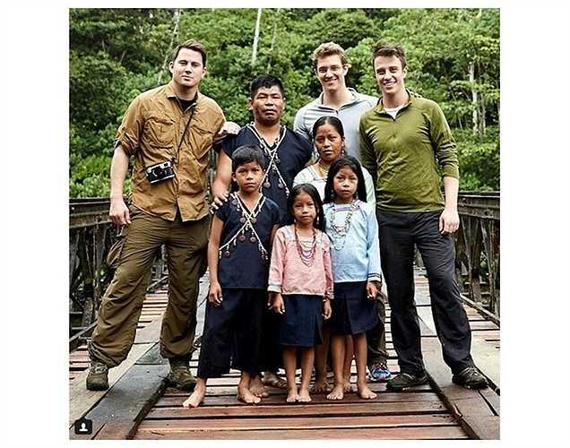 Channing Tatum có chuyến hành trình thú vị tới Amazon.