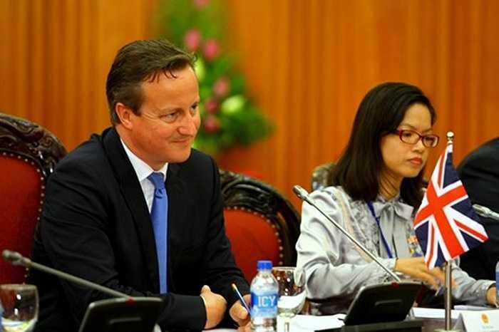 Ông Cameron bày tỏ sự cảm ơn sau khi nghe Thủ tướng Nguyễn Tấn Dũng chúc mừng ông tái đắc cử