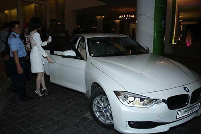 Chiếc xe này giờ thuộc quyền sở hữu của em gái Angela Phương Trinh.